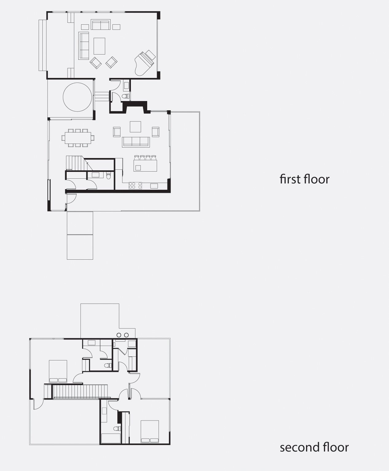 Oak Pass Tree House Floor Plan  Photo 11 of 11 in Wouldn't You Like to Have Your Own Private Concerts at Home?