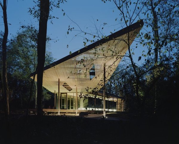 Architecture Design: Marlon Blackwell Architects Fayetteville, Arkansas-based architect and educator Marlon Blackwell creates structures that blend vernacular and contemporary forms. The Ruth Lily Visitors Pavilion, designed for the Indianapolis Museum of Art in Indiana, picture here, was completed in 2010.