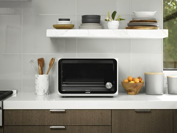 Product Design: Ammunition  Working across product design, service design, brand identity, user experience, graphics, and packing, 60-person firm Ammunition has worked with a range of brands, including Beats by Dr. Dre, Lyft, Polaraoid, and more. Pictured is the June Intelligent Oven, the first truly intelligent countertop oven, designed in 2015.