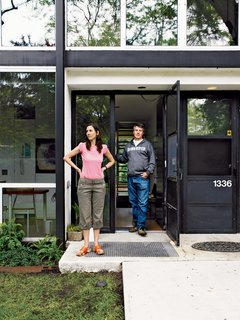 "In 2006, Alexandra and Barlow moved to Detroit from Brooklyn. The couple was heartbroken after losing a bid on a pristine townhouse, but they consoled themselves with a thoughtful renovation. Alexandra worked with contractor Joe ""Schmoe"" Proper from Lafayette Park Renovation to restore and update the home."
