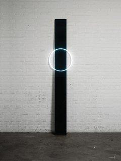A vertical piece from Sabine Marcelis's VOIE light series #1.