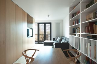 The Wood Box Apartment by Crosby Studios.