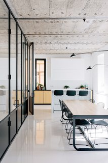 The Black and White Apartment by Crosby Studios.