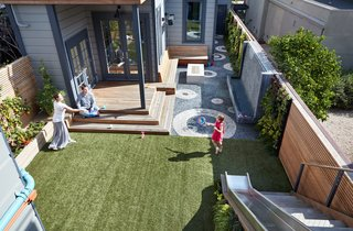 A Heavenly Backyard is Precise with Pebbles
