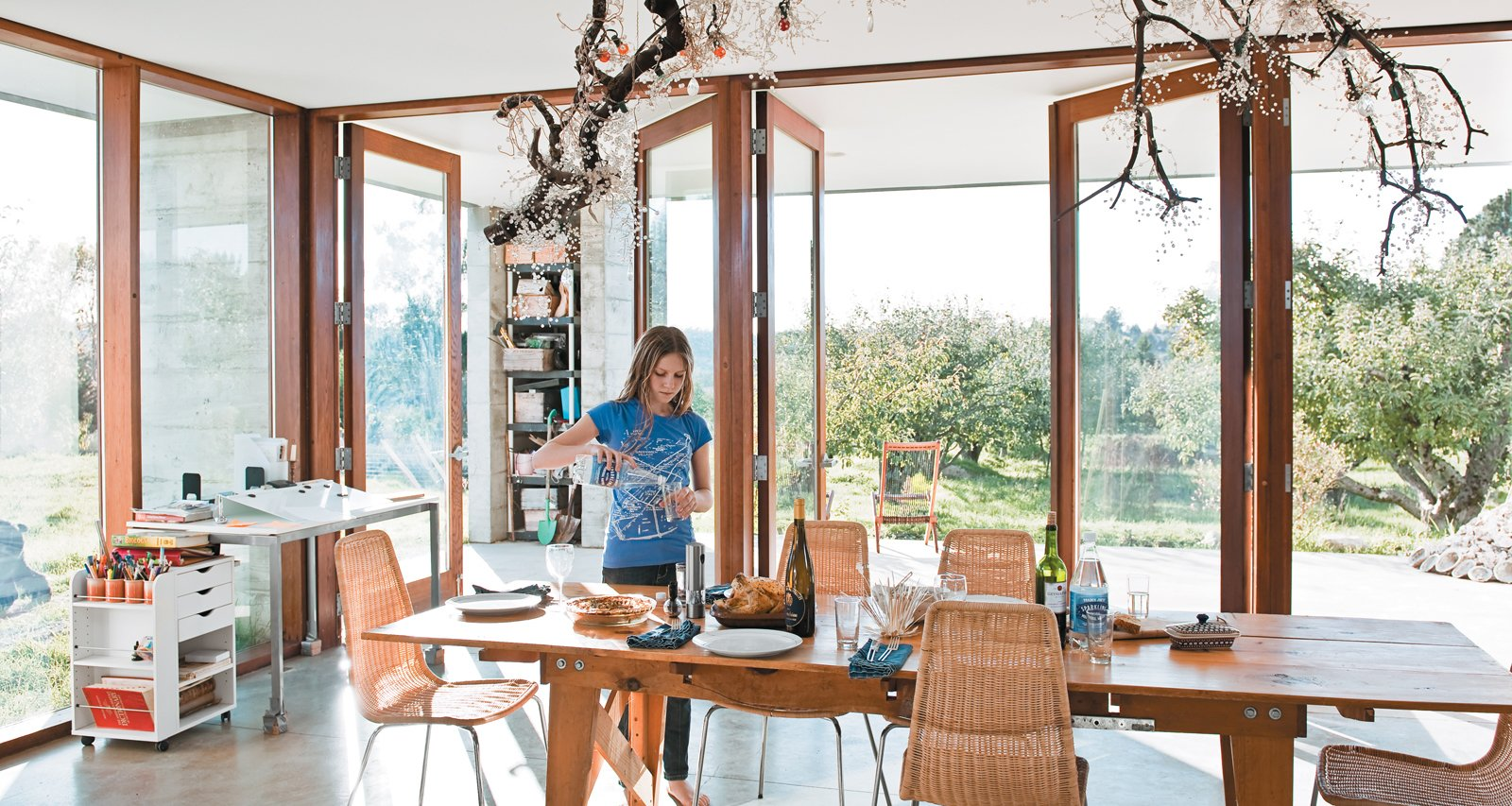 Photo 1 of 18 in A Sonoma Prefab That Celebrates a Family's Passion for Cooking