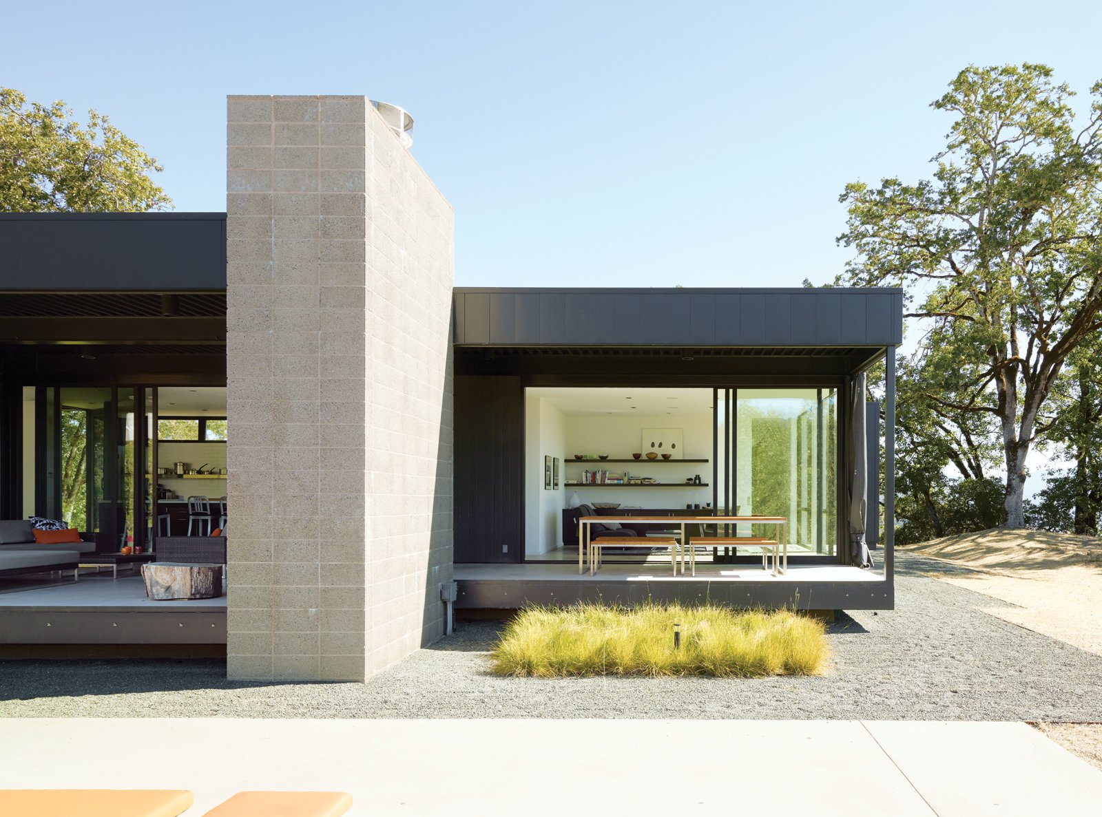 Modern Landscaping from When Prefab Is Painless
