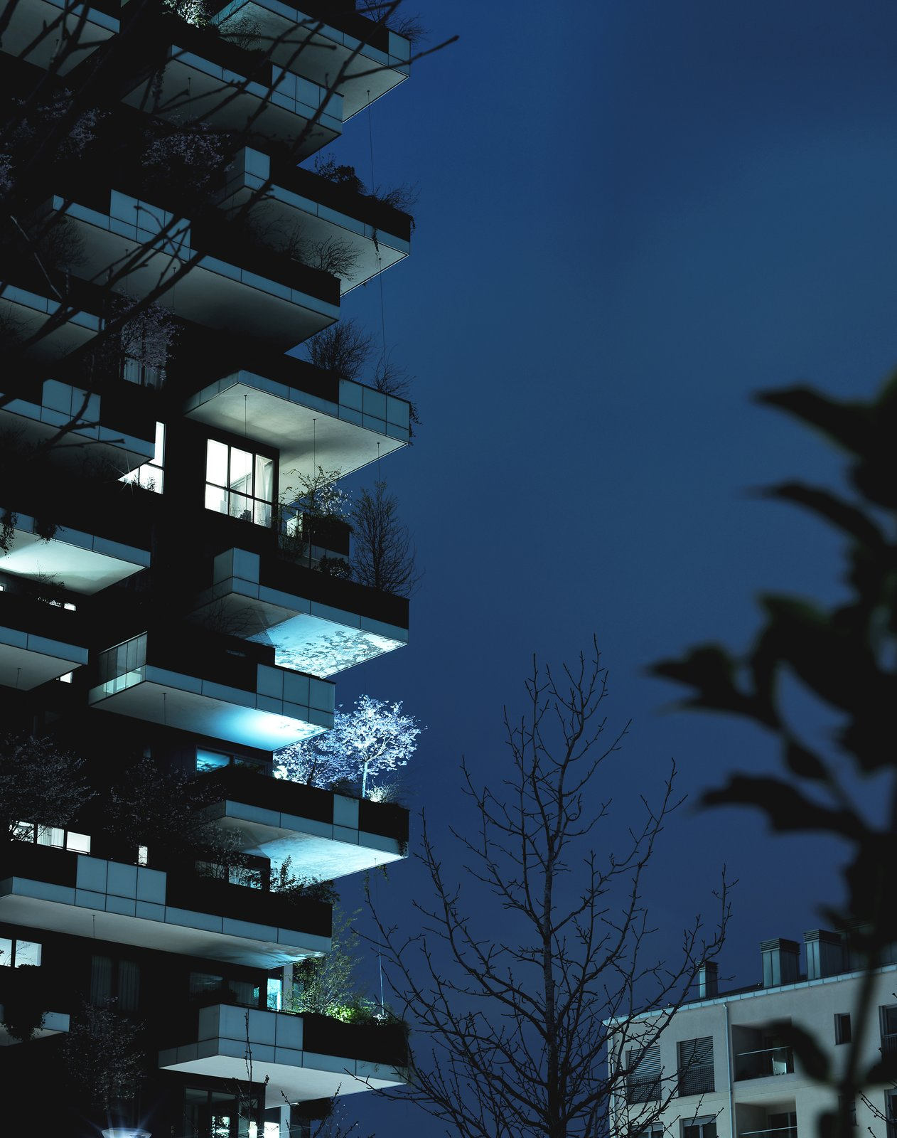 Photo 1 of 7 in Pretty on the Inside: The Luxe Residences of Milan's Vertical Forest