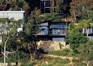 Three Glass-and-Copper Pavilions Conquer the Cliffs