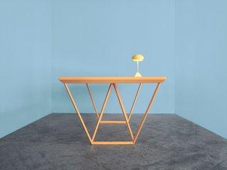The Current table by Marjan van Aubel.