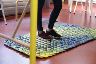 An example of a rug used in the office.