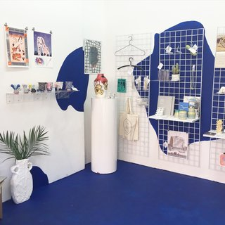 Fisher collaborated with LikedMindedObjects founder Elise McMahon on the exhibition CHILLZONE, which featured new work by several artists and designers.