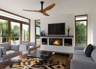The World's First Smart Ceiling Fan Cuts Energy Bills in Summer and Winter