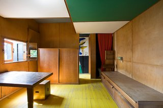 For those that love tiny cabins, Le Petit Cabanon was Le Corbusier's own miniature abode with a colorful and clever space-saving interior.