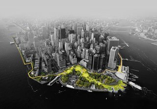 A Megastructure Will Guard Manhattan From Superstorms