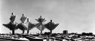 City in the Air by Arata Isozaki (1960-62)