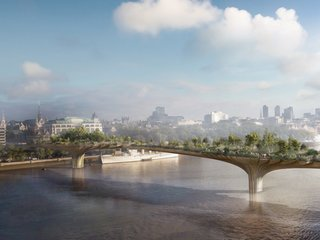 New projects by Thomas Heatherwick,  including London's Garden Bridge, are greening the urban environment, but not without controversy.