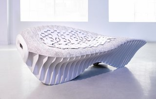 Recent innovations in mycelium engineering include Terreform ONE's waste-free, pollution-free mushroom chair.