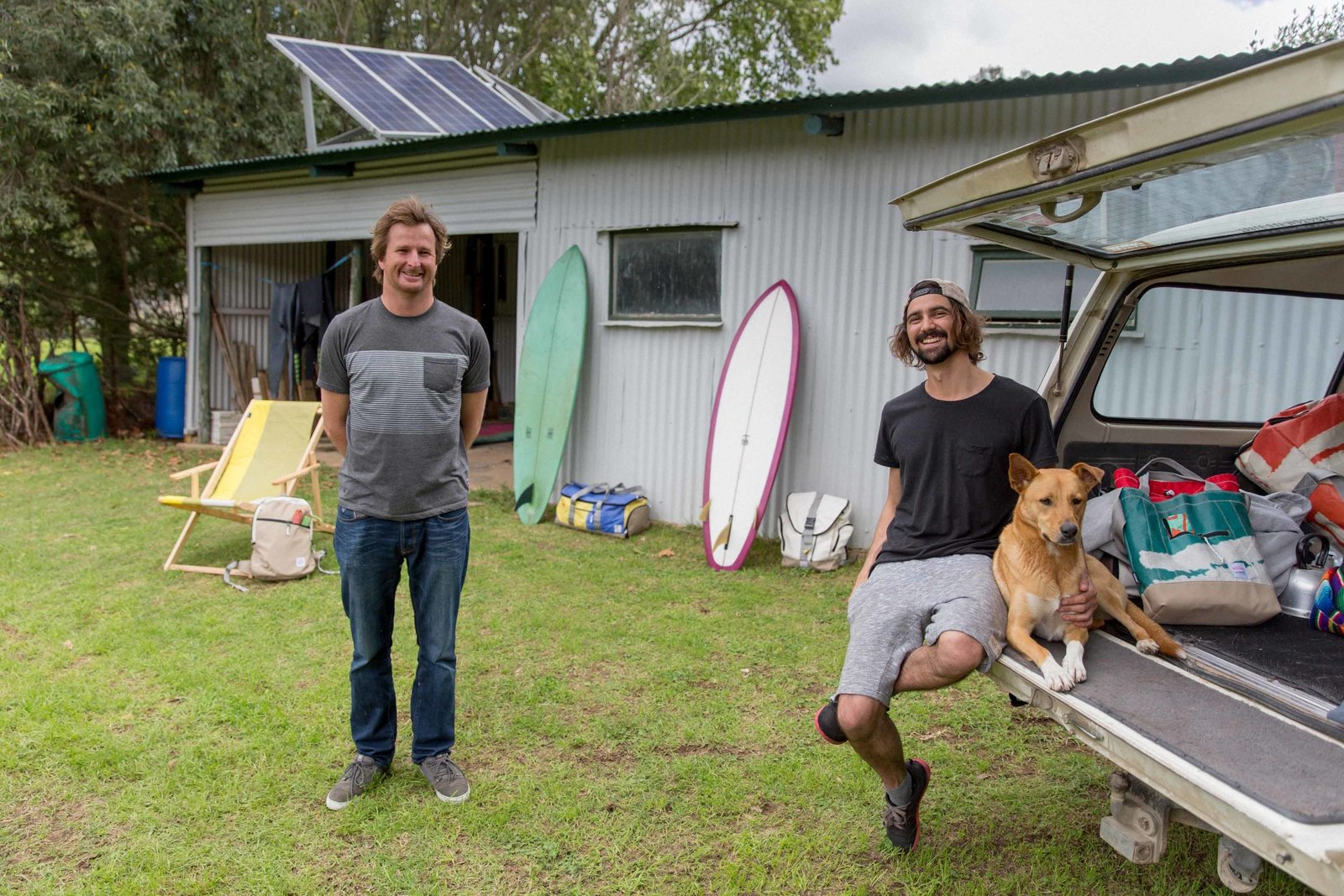 Photo 3 of 9 in Salvaged Outdoor Gear Gets New Life, Thanks to a Surfer-Designer Duo