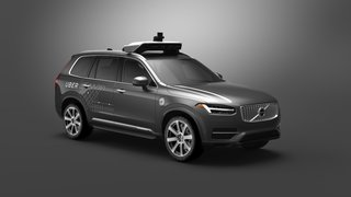The XC90 for the Uber and Volvo collaboration.