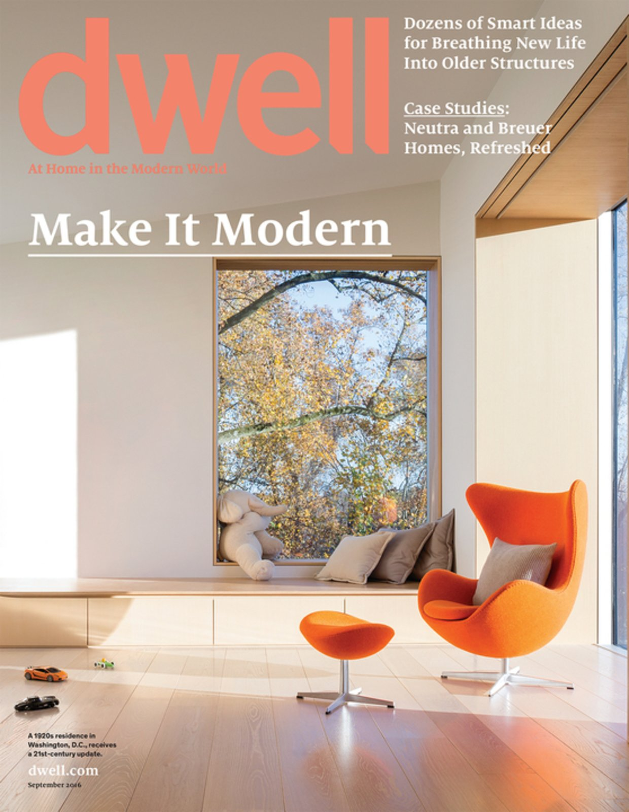 September 2016 Issue: Make It Modern by Dwell