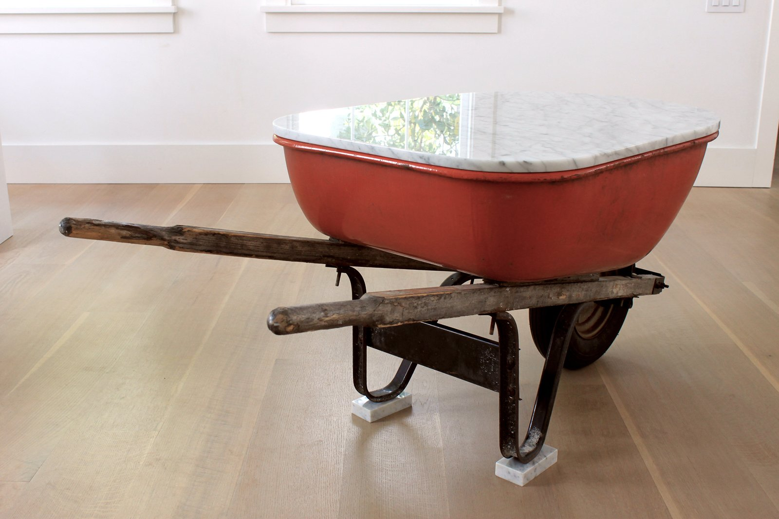 The American Ad Hoc series is a collection of classic American products with a Carrara marble top.  <span style=  Photo 4 of 5 in Stranger Things: The Imaginative Objects of Parsons & Charlesworth