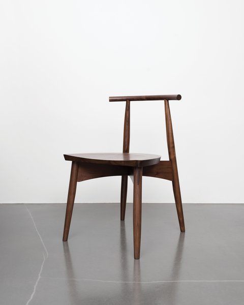 Eight simple components assembled by traditional joinery make up the Portland chair, so-called for the city name shared by Oregon and Maine, where Phloem Studio and Thos. Moser's headquarters are respectively based.  Photo 2 of 5 in A Chair That Shows How Tech and Craft Come Together
