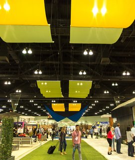 This year's show comprised hundreds of exhibitors who displayed the latest in furnishings, appliances, materials, building systems, and more.