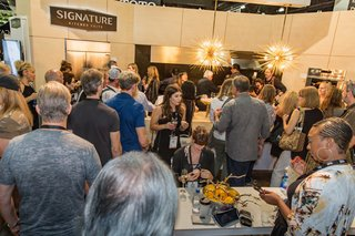 Cooking demonstrations are always popular, and Signature served a variety of dishes to throngs of hungry passersby.