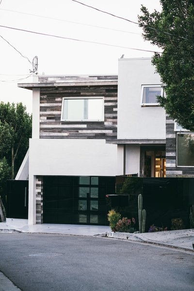 Design aficionado Ted Dhanik purchased this Los Angeles home in 2008 and has since overseen a top-down remodel. The house features a fully integrated automation system that includes everything from preferred shower settings to remote-controlled cameras, gates, doors, and blinds.