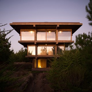10 Inspiring Houses - Photo 1 of 10 - Via designboom, photo by Pezo von Ellrichshausen.