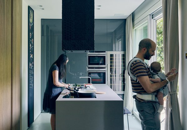 This Growing Family Maximizes Every Last Inch in Their 850-Square-Foot Apartment