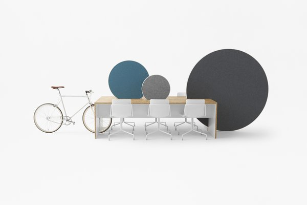 Nendo Puts a New Spin on the Whiteboard in the Workplace