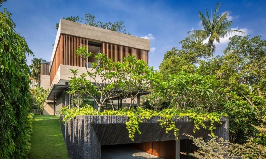Via Inhabitat, photo by Marc Tey  Photo 7 of 11 in This Week's 10 Best Houses