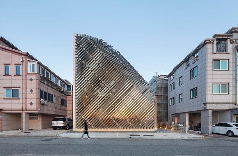 Via designboom, photo by shinkyungsub  Photo 10 of 11 in This Week's 10 Best Houses