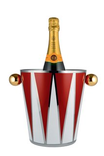 A wine cooler from the Circus Collection by Marcel Wanders for Alessi.