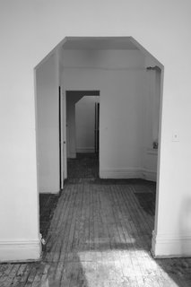 Krajewski removed a second wall between the living area and the kitchen, opening up the elongated interior.
