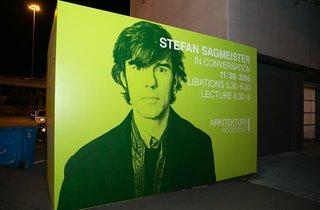 A Conversation with Stefan Sagmeister