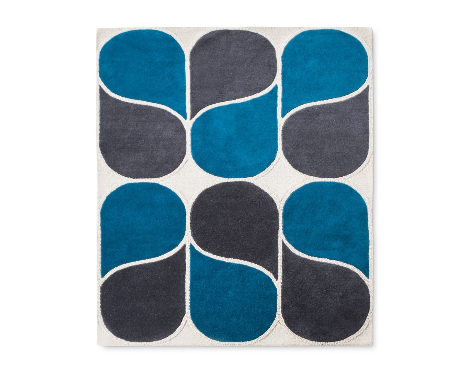 Photo 1 of 1 in Modern by Dwell Magazine Hand-Tufted Wool Rug