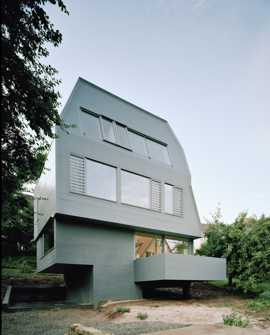 Exterior, Prefab Building Type, and House Building Type Project Name: JustK – Living Space in Tübingen  Website: http://www.amunt.info/   Photo 13 of 23 in 22 Modern Prefab Companies That Every Homebuyer Can Rely On