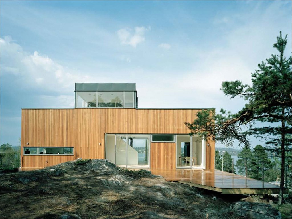 Exterior, Prefab Building Type, Wood Siding Material, and House Building Type Project Name: AH #62  Website: http://www.arkitekthus.se/  Photo 9 of 23 in 22 Modern Prefab Companies That Every Homebuyer Can Rely On