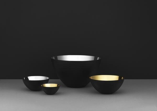 """Krenit bowls with a glistening inside in gold and silver.  Photo 7 of 11 in 10 Ways to Bring a Little """"Hygge"""" Into Your Home"""