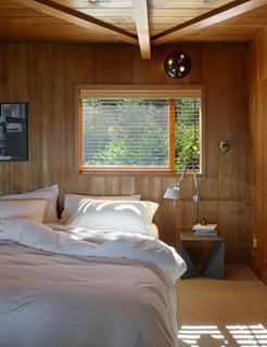 Creatives of the Bay Area Series: Charles de Lisle - Photo 10 of 12 - Another bedroom is left simple to let the wood do the talking.