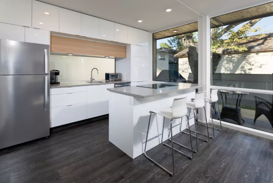 Central & Modern Shipping Container Carriage Home  Photo 7 of 11 in 10 Rentable Homes in the World's Best Wine Regions