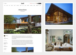 Add a Home to Dwell - Photo 1 of 2 - The award winning Orleans House submitted and designed by Charles Rose Architects.