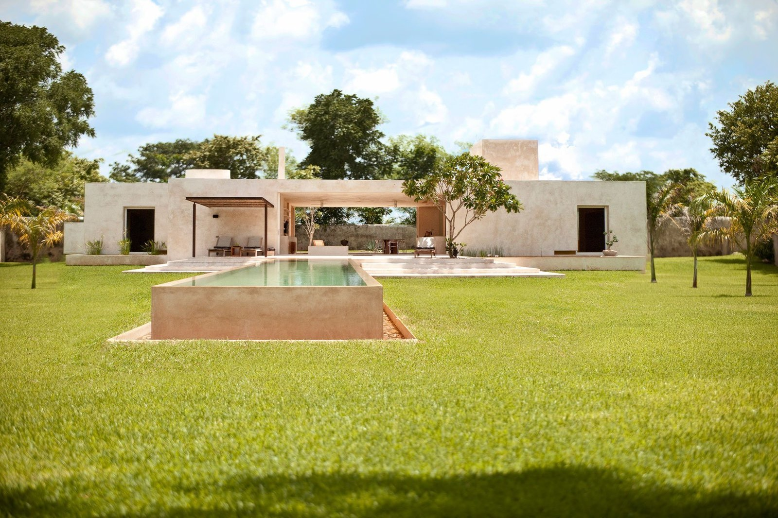Outdoor, Trees, and Grass  Photo 1 of 11 in 10 Modern Vacation Homes in Mexico That Guarantee an Epic Escape