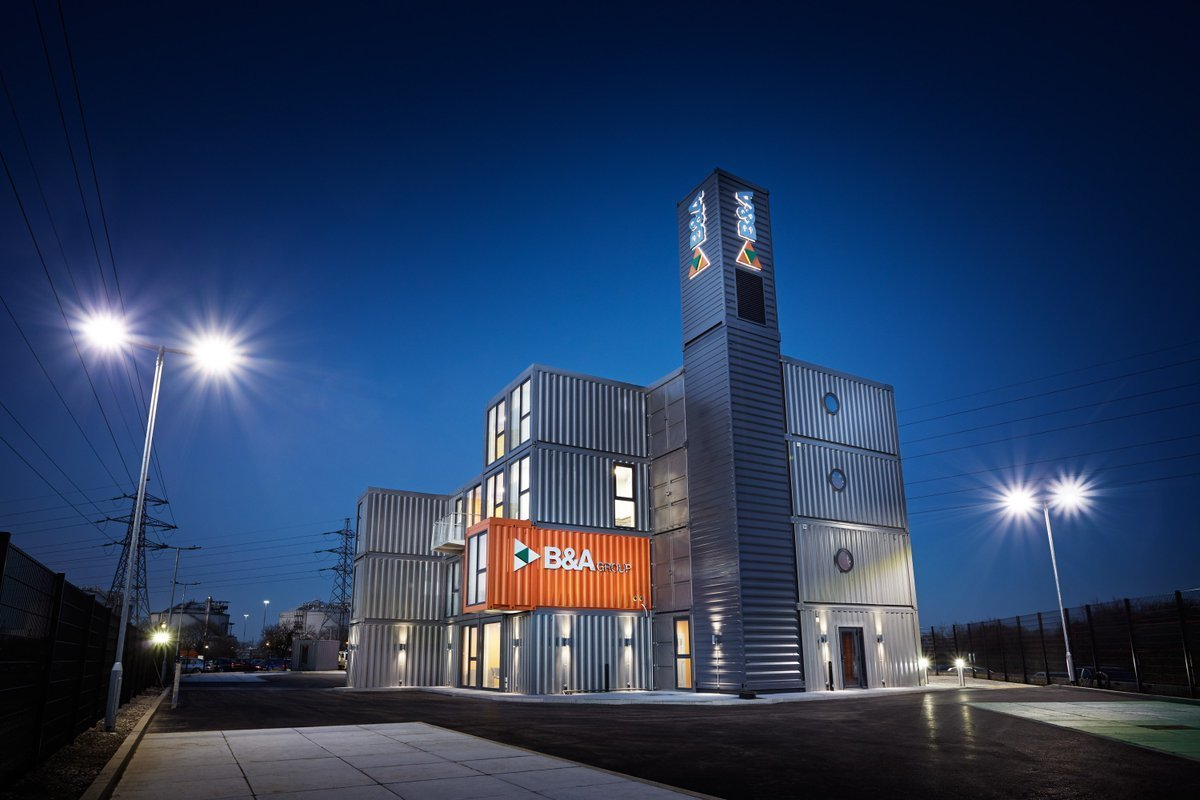 Project Name: B&A Head Office Building  Photo 8 of 11 in 10 Prefab Shipping Container Companies in Europe