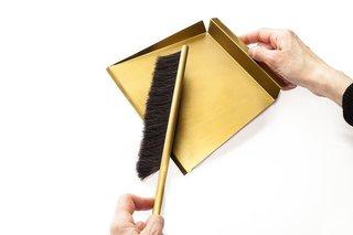 Gentner Dust Pan and Brush