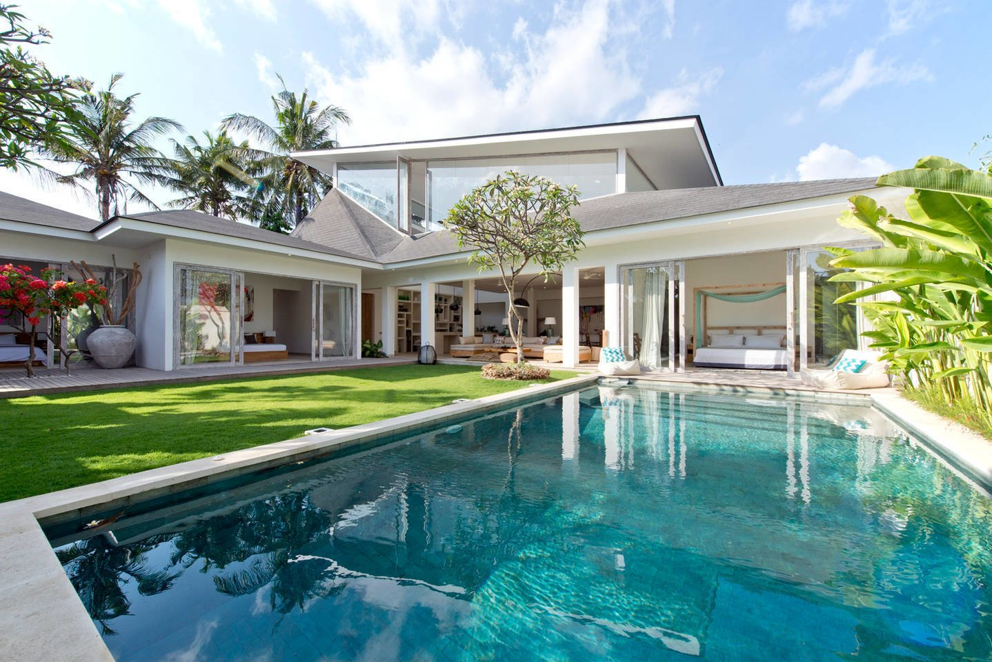 Photo 1 of 11 in Connect With Bali's Tropical Landscape at One of these Modern Villas