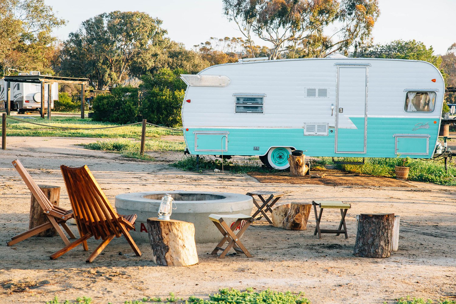 Photo 4 of 8 in 7 Vintage-Inspired Trailer Parks, Airstreams and All