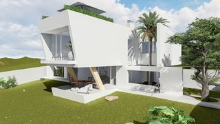 10 Bright White Cubist Homes Across the Globe - Photo 9 of 10 -